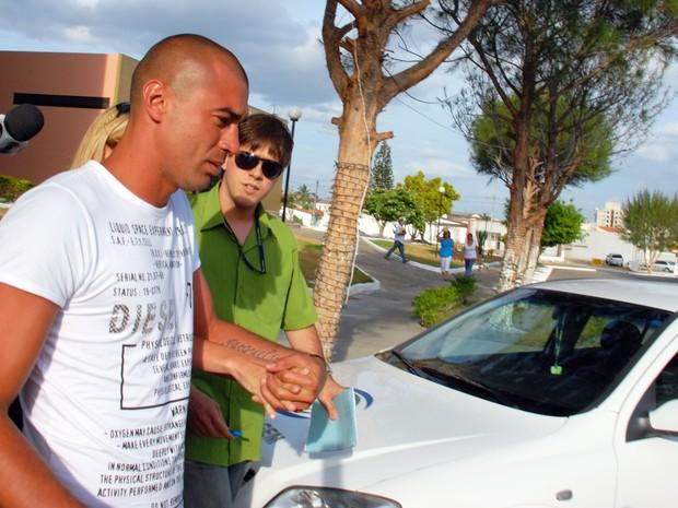 Jogador Fábio Bilica também foi preso em 2009 por não pagar pensão alimentícia (Foto: Leonardo Silva/Jornal da Paraíba/Acervo)