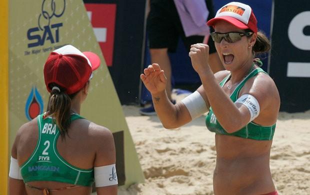Ágatha e Bárbara Seixas vôlei de praia Tailândia (Foto: Divulgação/FIVB)