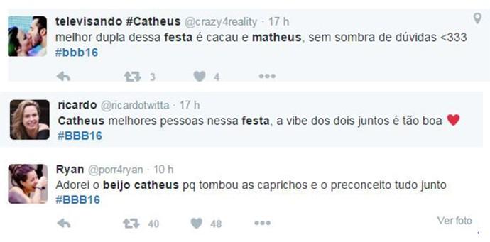 Comentários Cathues (Foto: Reprodução Internet)