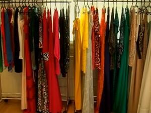 Sócias faturam com a locação de vestidos de luxo a preços acessíveis (Foto: Reprodução / TV Globo)