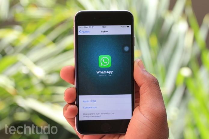 WhatsApp aumenta limite de grupos para 256 pessoas (Foto: Anna Kellen Bull/TechTudo)