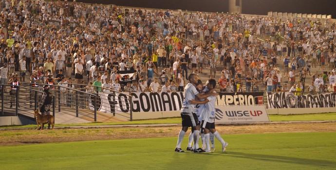 Botafogo-PB, Santa Cruz-PB, gol, Paraibano, Almeidão, João Pessoa (Foto: Larissa Keren / GloboEsporte.com/pb)