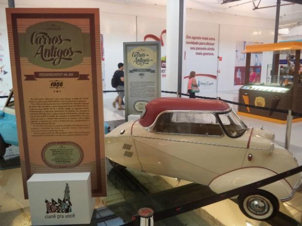 Exposição 'Carros Antigos' (Foto: Divulgação/ Assessoria de Imprensa)