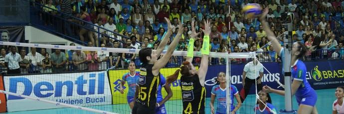 Praia Clube, Minas, Superliga, semifinal (Foto: Praia Clube/Divulgação)