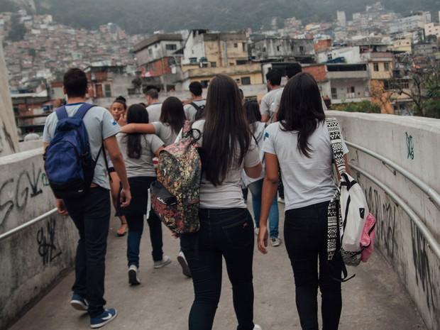 5b08d7117 Escola municipal Rodrigues Alves, no Rio de Janeiro (Foto: Gabriela  Portilho)