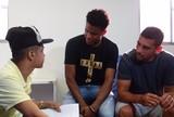 Jogadores do Sport realizam sonho de paciente do HCP com visita