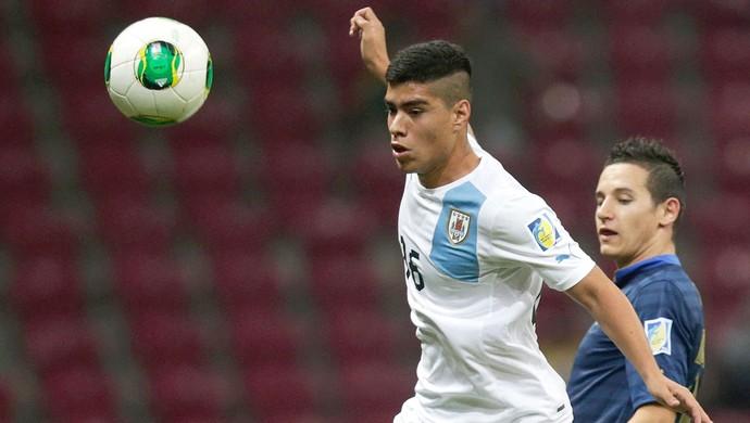 Lucas Olaza jogador do Uruguai (Foto: Getty Images)