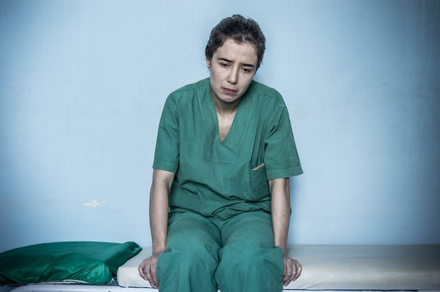 Marjorie Estiano em 'Sob pressão' (Foto: Mauricio Fidalgo/TV Globo)