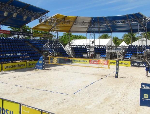 Circuito Vôlei de Praia AL (Foto: Viviane Leão/GloboEsporte.com)