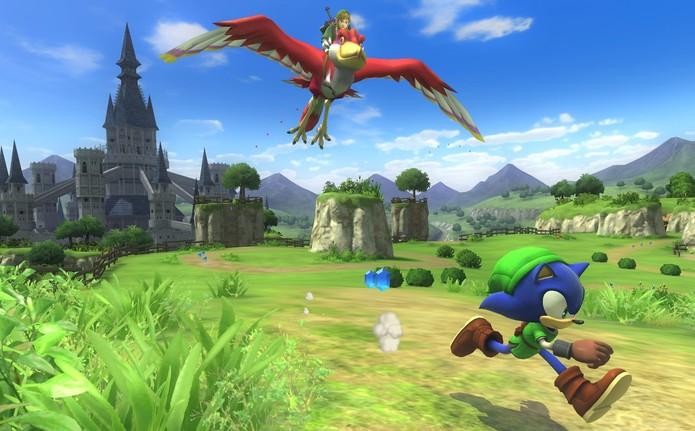 Sonic: Lost World ganhou um DLC que homenageia a série Zelda (Foto: Divulgação)