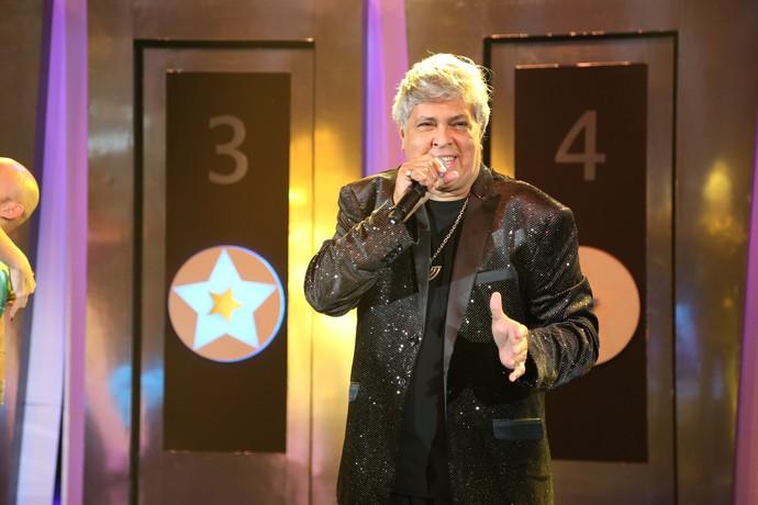 Sidney Magal cantou o sucesso 'Me Chama que Eu Vou' (Foto: Carol Caminha/Gshow)