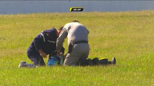 """""""Peço desculpas aos envolvidos"""", diz Pizzonia após acidente na Stock Car"""