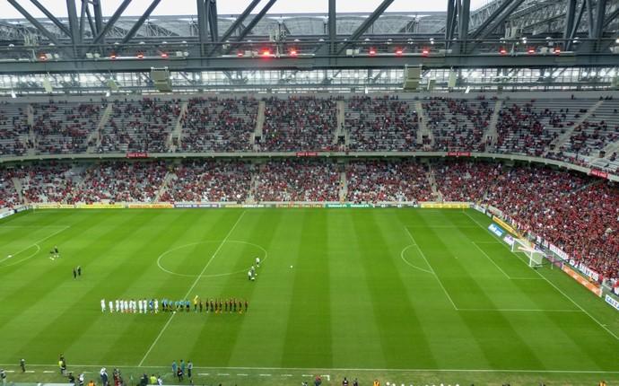 Arena da Baixada Atlético-PR x Corinthians (Foto: Monique Silva)
