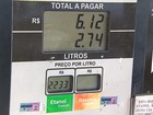 Preço do litro do etanol está mais baixo em Belo Horizonte