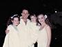 Nelson Freitas relembra foto antiga com Fernanda Souza e Carla Diaz