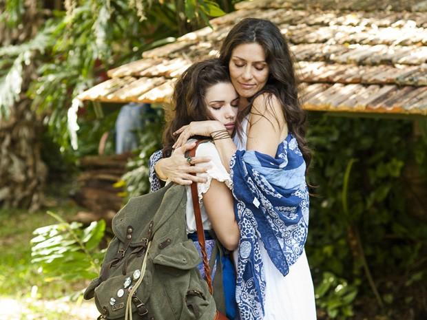 Bruna Linzmeyer e Maria Fernanda Cândido em 'O amuleto' (Foto: Divulgação)