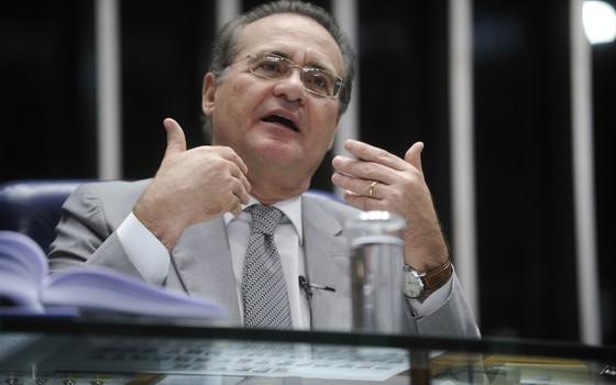 O senador Renan Calheiros  (Foto: Moreira Mariz/Agência Senado)