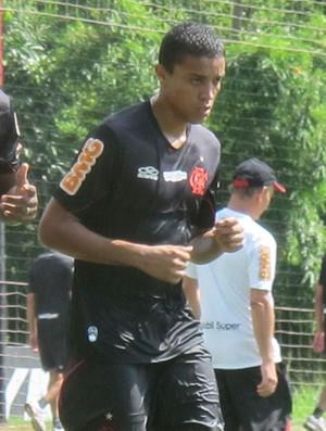 Renato e João Felipe, Flamengo (Foto: Janir Junior / Globoesporte.com)