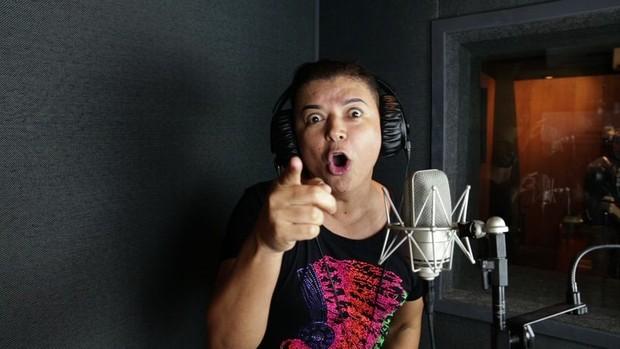 David Brazil grava CD de marchinha de carnaval (Foto: Divulgação)