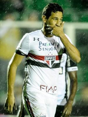 Figueirense x São Paulo Ganso (Foto: Eduardo Valente/Framephoto/Estadão Conteúdo)
