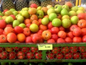 Em feiras de Macapá, produto é comercailizado a R$5,50 o quilo (Foto: Carlos Alberto Jr. / G1)