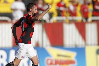 Mancuello - gol Flamengo x Boavista (Foto: Gilvan Souza - Divulgação, Flamengo)