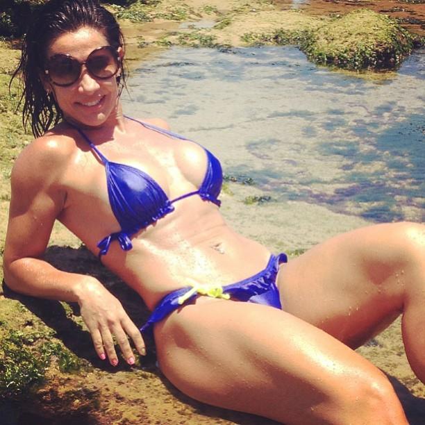 Scheila Carvalho Posa De Biquin Foto Instagram Reprodu O