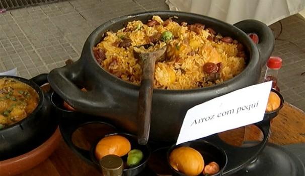 Xeriqui é a receita campeã do concurso arroz com pequi (Foto: Reprodução Inter TV Grande Minas)