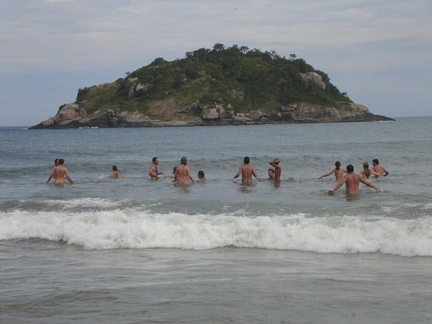 Praia de nudismo de Abricó, no Rio de Janeiro (Foto: Divulgação/Portal Brasil Naturista)