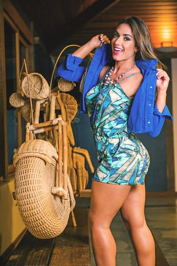 Nicole Bahls (Foto: Gustavo Paixão / Divulgação)