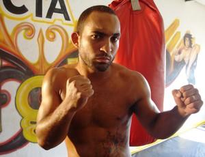 Pow, lutador de Kickboxing (Foto: Cleber Corrêa)