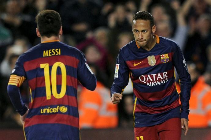 Neymar Messi Barcelona (Foto: Reuters)