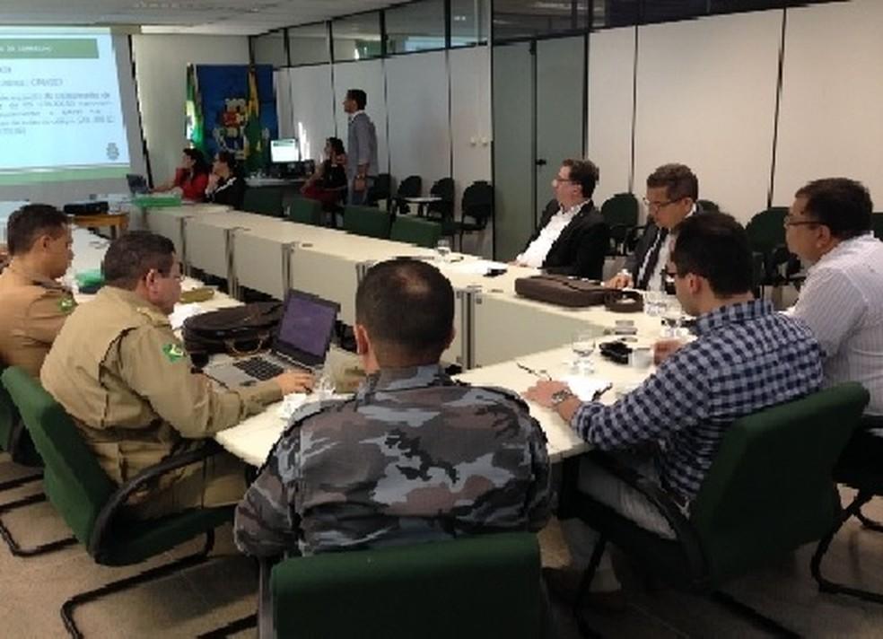 FDS aprovou liberação de mais de R$ 2 milhões em recursos para segurança  (Foto: Divulgação/SSPDS)