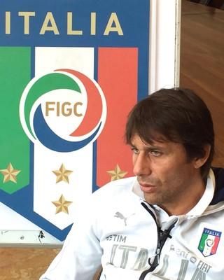 Antonio Conte Seleção Itália (Foto: Claudia Garcia/GloboEsporte.com)