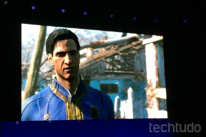 Em Fallout 4, o jogador é o único sobrevivente da valt 111 (Foto: Viviane Werneck/TechTudo)