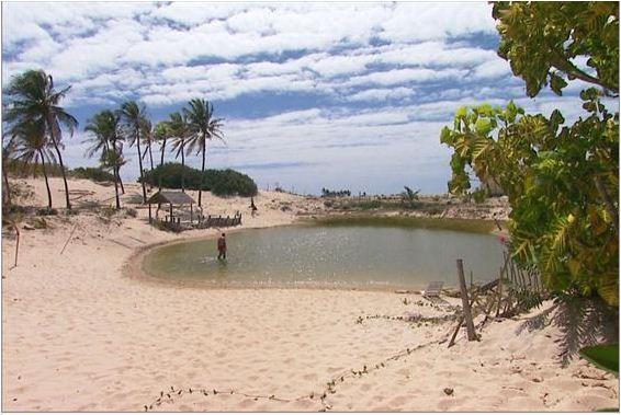 Terra da Gente faz um verdadeiro tour de pesca por vários cenários cearenses (Foto: Reprodução EPTV)