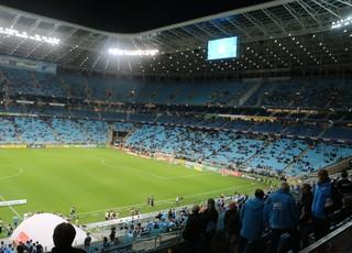 Grêmio x Fluminense Arena do Grêmio Copa do Brasil (Foto: Eduardo Moura/GloboEsporte.com)