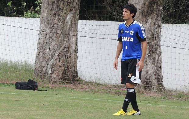 Gonzalez Flamengo treino (Foto: Cahê Mota)