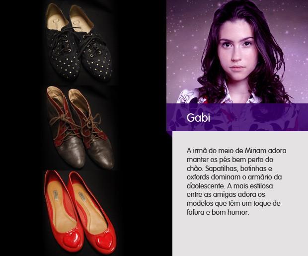especial sapatos gabi (Foto: amoreternoamor/tvglobo)