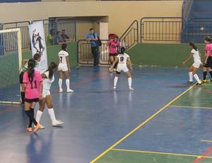No feminino, Ariquemes venceu por 3 a 2 a equipe de Presidente Médici (Foto: Hugo Crippa/GLOBOESPORTE.COM)