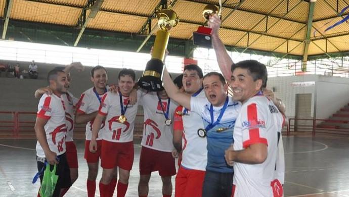 Bradesco/Centro faturou título de 2014 com vitória apertada sobre o atual campeão Basa (Foto: Manoel Façanha/Arquivo Pessoal)