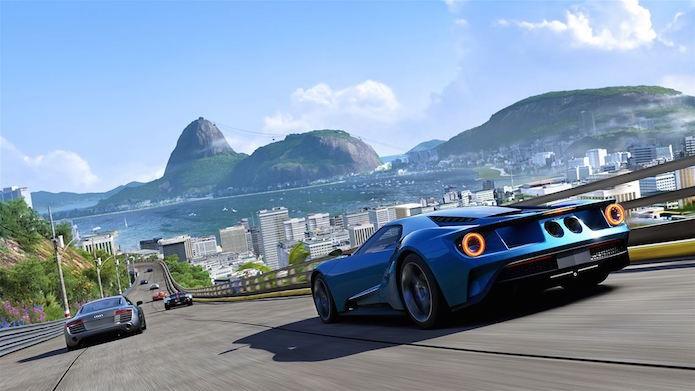 Brasil também está bem representado no game de corrida (Foto: Divulgação/Microsoft)