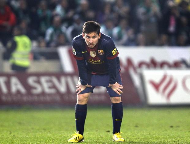 Messi, Cordoba e Barcelona, AP (Foto: Agência AP)