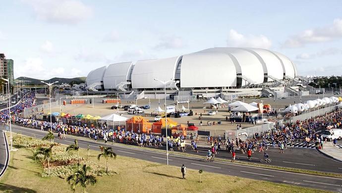 Meia Maratona do Sol - Arena das Dunas (Foto: Elias Medeiros)