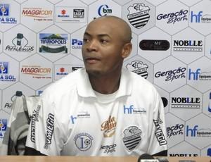 Marcos Pimentel, lateral do Comercial (Foto: Site oficial Comercial FC)