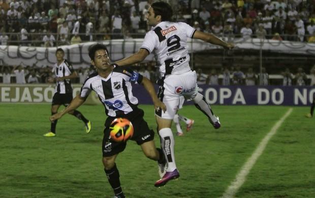 ASA e ABC empatam em Arapiraca (Foto: José Feitosa/Gazeta de Alagoas)