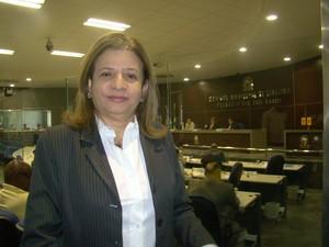 Vereadora questiona  postura da  Prefeitura de Teresina (Foto: Gilcilene Araújo/G1)