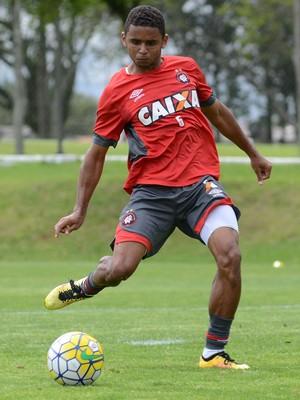 Deivid, Atlético-PR, treino (Foto: Marco Oliveira/Atlético-PR)