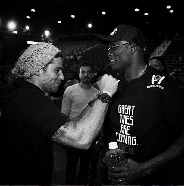 Bruno Gagliasso e Anderson Silva  (Foto: Reprodução do Instagram)