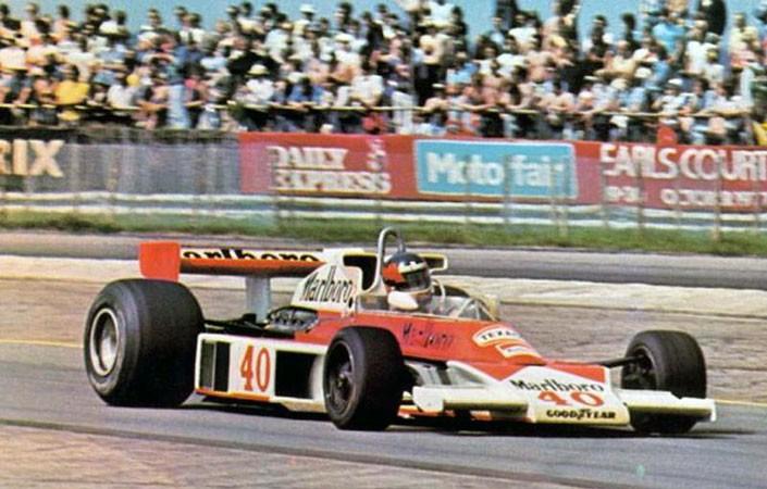 Gilles Villeneuve McLaren GP da Inglaterra de 1977